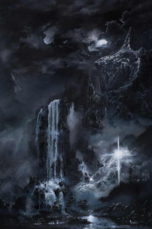 God Of The Mountain And The Valley Painting